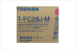 1.T-FC28J-M マゼンタ 純正トナー e-STUDIO