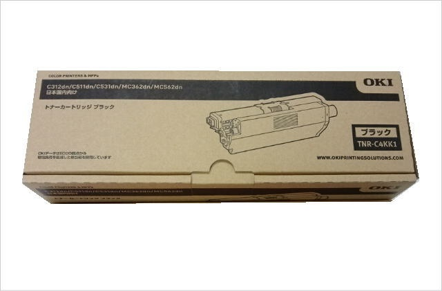 TNR-C4KK1 トナーカートリッジ ブラック (MC562/362dn/C531dn/511dn/312dn)