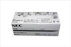 4.PR-L5600C-19 大容量トナー ブラック NE-TNL5600-19J