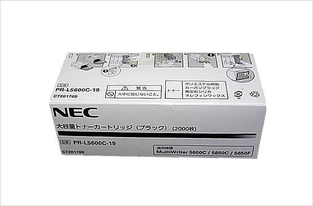 PR-L5600C-19 大容量 トナー ブラック NE-TNL5600-19J