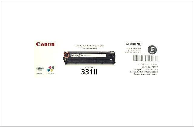 トナーカートリッジ331IIブラック6273B003 CN-EP331-2BKJ