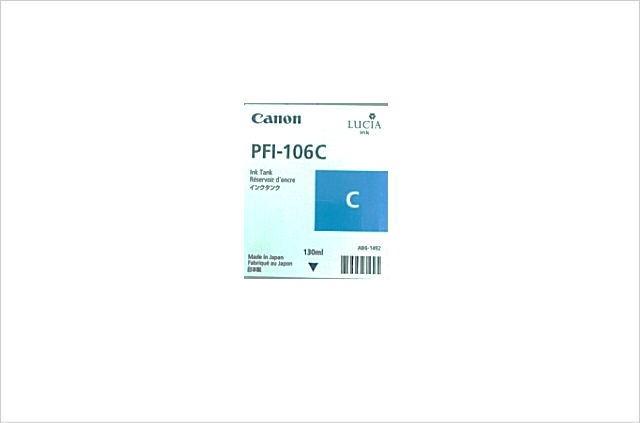 純正インクタンク シアン PFI-106C 6622B001