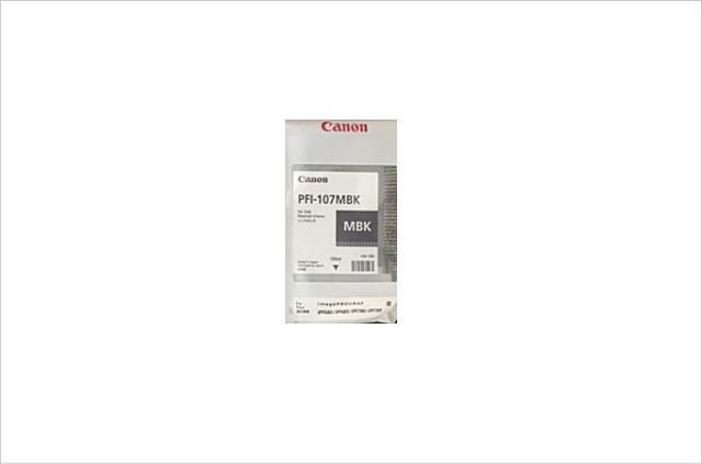 純正インクタンク マットブラック PFI-107MBK 6704B001