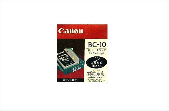 BJカートリッジ BC-10 ブラック ヘッド・インクセット