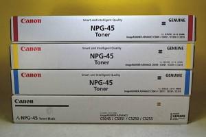 11.トナーNPG-45K ブラック 純正品