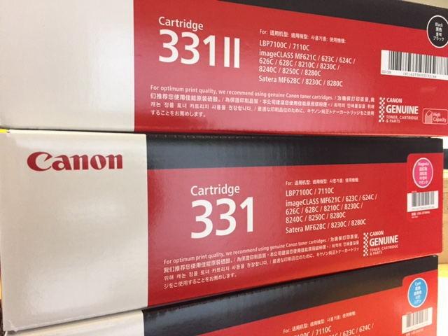 10.キャノン331トナーシリーズ