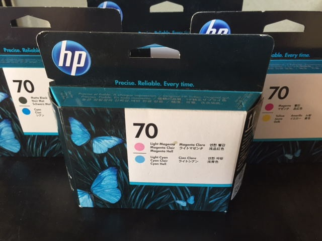 8.HP70シリーズインク