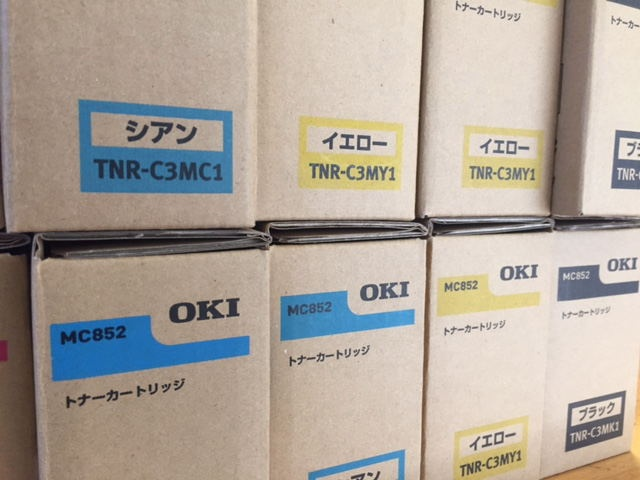 5.OKIトナーTNR-C3MC1