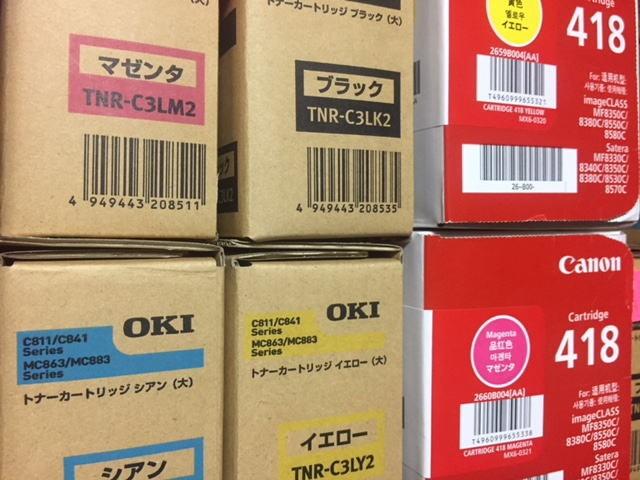 1.キャノン418・OKITNR-C3LM2