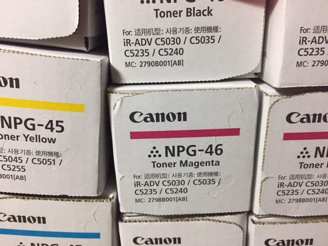 3.キャノンNPG-45・46